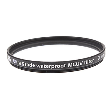 Multi-coating, Harden and Waterproof UV Filter 58mm