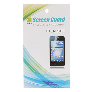 HD Skärmskydd med rengöringsduk för LG E400 Optimus L3