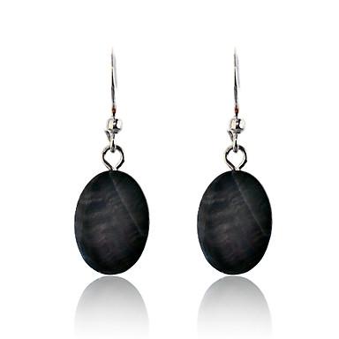 Dames Druppel oorbellen Kauri Legering Sieraden Zwart Feest Dagelijks Causaal Kostuum juwelen