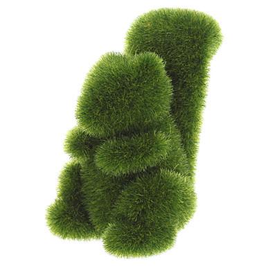 Grass Land animaux écureuil main avec gazon artificiel