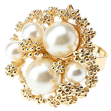 z&anillo de flor de la aleación perla x®