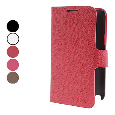 Elegant Design PU Leather Case with Stand and Card Slot for Samsung Galaxy Note2 N7100 (Assorted Colors)