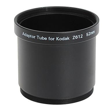 코닥 Z612/Z712/Z812 블랙에 52mm 렌즈 및 필터 어댑터 튜브