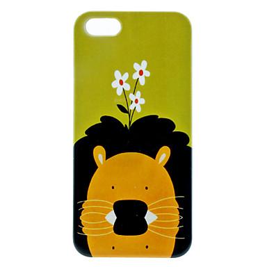 iphone 5/5s için aslan desen zor durumda
