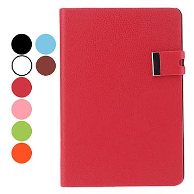 Tricoter Etui en cuir PU grain avec support pour iPad mini (couleurs assorties)