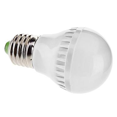 4W E26/E27 LED Globe Bulbs A50 60 SMD 3528 150 lm Warm White AC 110-130 / AC 220-240 V