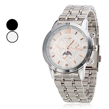 Men's Wrist Style Steel Analog Quartz Casual Watch (Assorted Colors)