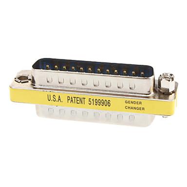 RS232 DB25 m / m adattatore