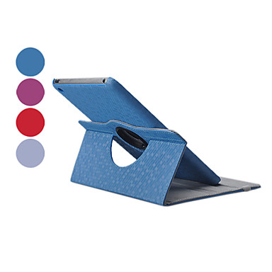 Case For iPad Mini 3/2/1 with Stand 360° Rotation Full Body Cases Solid Color PU Leather for iPad Mini 3/2/1