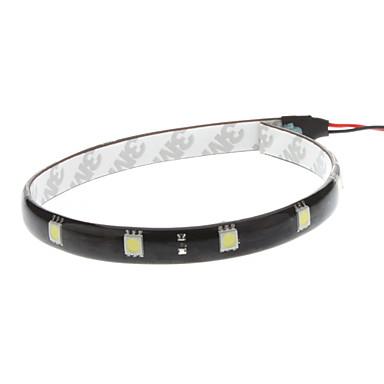 Araba Beyaz 2.5W SMD 5050 6000-6500 Gösterge Işıkları Plaka Aydınlatma Lambası Şerit Lamba