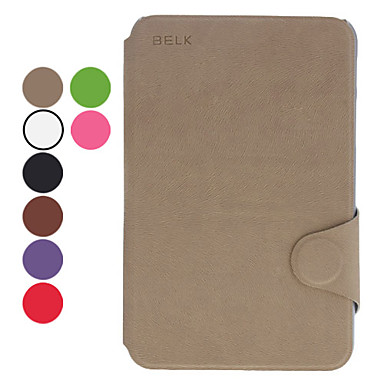 Di disegno del grano pu custodia in pelle con supporto e la fessura per carta per Samsung Galaxy Tab2 7.0 P3100 (colori assortiti)