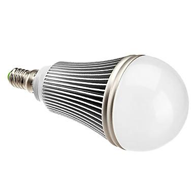 7W E14 LED-globepærer A50 7 Høyeffekts-LED 630 lm Varm hvit AC 85-265 V