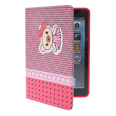 söpö pikku karhu case w / jalusta iPad mini 3, iPad Mini 2, iPad mini (valikoituja värejä)