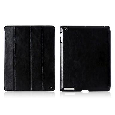 360 astetta kääntyvä Retro Style Solid Color taitettava Full Body Case jalusta iPad 2/3/4 (eri värejä)