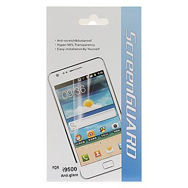 Protection d'écran anti-éblouissement avec chiffon de nettoyage pour Samsung Galaxy i9500 S4