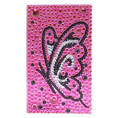 Baile de la mariposa de la joyería etiqueta protectora de cuerpo para el teléfono móvil