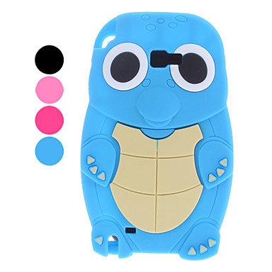 3D Design Tortoise Pattern Soft Case for Samsung Galaxy Note 2 N7100 (Assorted Colors)