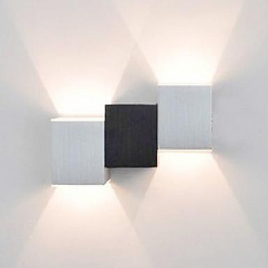 Duvar ışığı Ortam Işığı 2W 90-240V Birleştirilmiş LED Modern / Çağdaş Resim