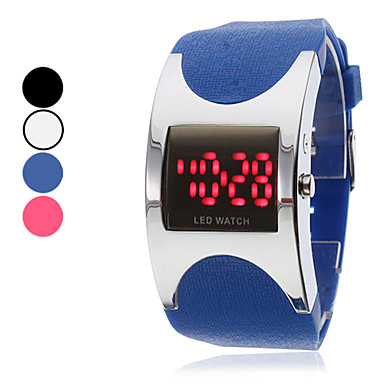 Unisex Silicone Digital LED Wrist Watch (Assorted Colors)