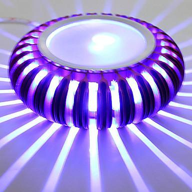 3 Birleştirilmiş LED Modern/Çağdaş Eloktrize Kaplama özellik for LED Mini Tarzı Ampul İçeriği,Ortam Işığı Duvar ışığı