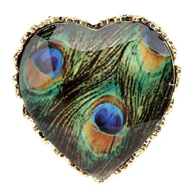 L'amore blu pavone dell'anello