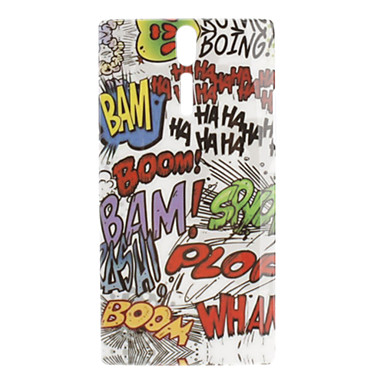 Scrawling Pattern Hard Case for Sony Xperia S LT26i