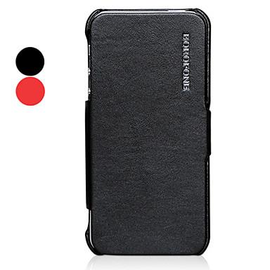 cuir couleur dossier solide Corée doux complet du corps pour l'iphone 5/5s (couleurs assorties)