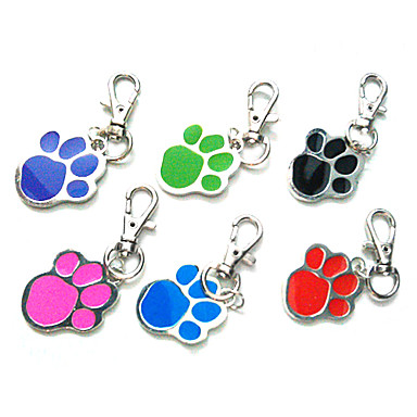 Dog Tag Footprint/Paw