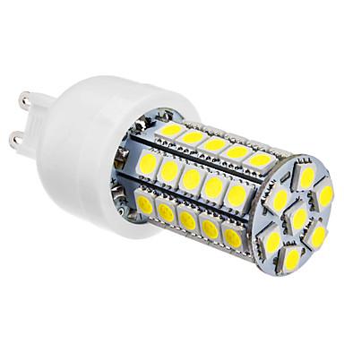 6000lm G9 LED-lampa T 47 LED-pärlor SMD 5050 Naturlig vit 220-240V