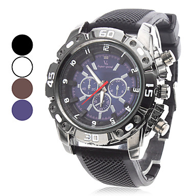 V6® Men's Watch Sports Silicone Strap Cool Watch Unique Watch