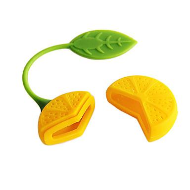 Limon Tasarım Çay Herb Filtre demlik Süzgeç Teabag (Rastgele Renk)