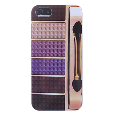Various Colors Eye Shadow Box Pattern Hard Case for iPhone 5/5S