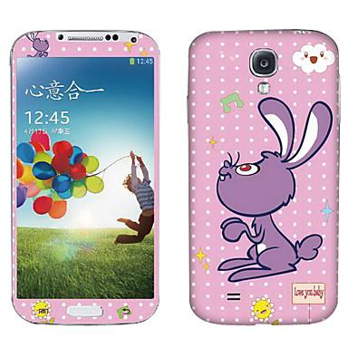 Cartoon Musical Rabbit Pattern Body Sticker for Samsung Galaxy S4 I9500