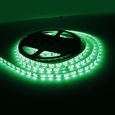 Waterdichte 5M 18W 300x3528 SMD Green Light LED Strip lamp (12V, IP44)
