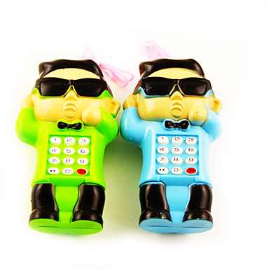 PSY Style Musical Cell Phone Toy with Sound Effect Educational(3xAA)