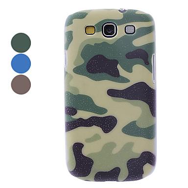 Camuflaje Diseño caso duro para Samsung Galaxy S3 I9300 (colores surtidos)
