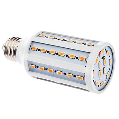e26 / e27 led mısır ışıkları 60 smd 5630 630lm sıcak beyaz 3500k ac 220-240v