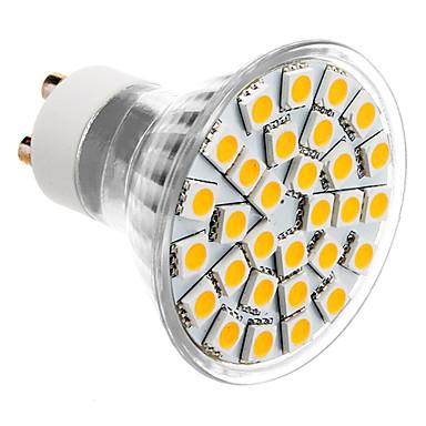 SENCART 3500 lm GU10 LED Spot Işıkları MR16 30 led SMD 5050 Sıcak Beyaz AC 85-265V