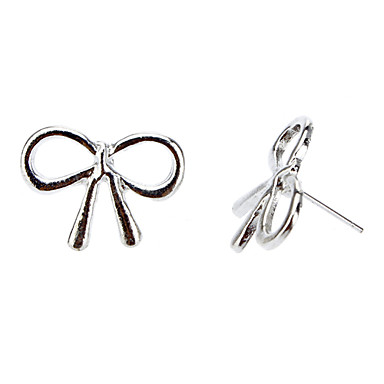 New Metal Bow-Knot Earrings