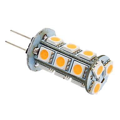 2W 180-220lm G4 / GU4(MR11) LED Λάμπες Καλαμπόκι T 18 LED χάντρες SMD 5050 Θερμό Λευκό / Ψυχρό Λευκό 12V