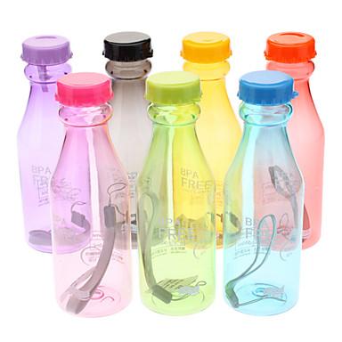 Bicicletă Sticle de Apă Non Toxic BPA Nelipicios Pentru Ciclism Bicicletă șosea Bicicletă montană Plastic Culori aleatorii