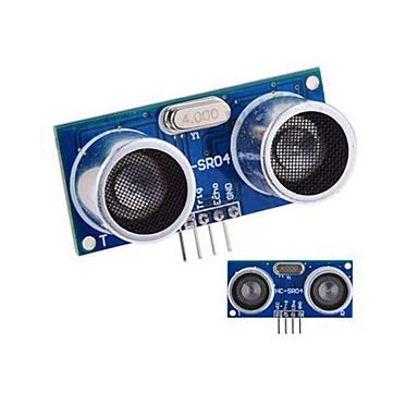 Ultrasonik Sensör HC-SR04 Mesafe Ölçüm Modülü - Mavi + Gümüş