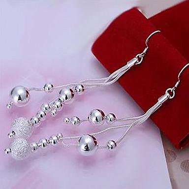 Kadın's Damla Küpeler - Gümüş Kaplama Gümüş Uyumluluk Parti / Günlük
