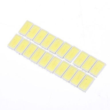 20pcs SMD 5730 50 LED Çip 0.5