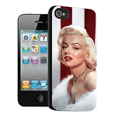 iphone 5 iphone kutuları için marilyn monroe desen 3d efekt davası