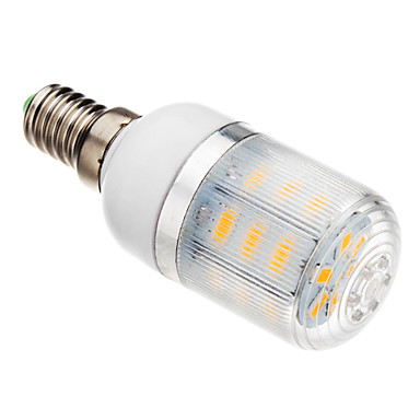 3W 150-200lm E14 LED Mısır Işıklar T 24 LED Boncuklar SMD 5730 Sıcak Beyaz 220-240V