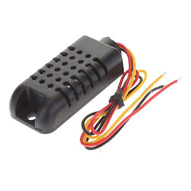 AM2301 Kapasitif Dijital Sıcaklık Nem Sensörü - Siyah (3.3 ~ 5.5V)