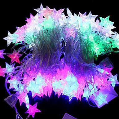 4m RGB Şerit Işıklar / Dizili Işıklar 20 LED'ler RGB Renk Değiştiren 220 V