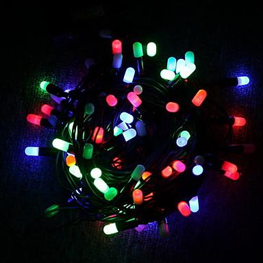 Dizili Işıklar 30 LED'ler Dip Led Çok Renkli Dekorotif / Noel Düğün Dekorasyonu 4 V 1pc / IP44