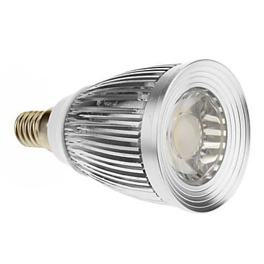 7W E14 LED Spot Işıkları 1 COB 600-630 lm Serin Beyaz AC 85-265 V
